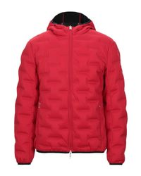 Armani Exchange Red Down Jacket for men