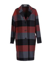Lardini - Red Coat - Lyst