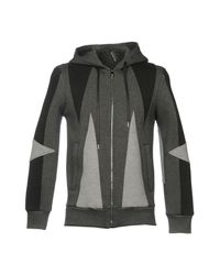 Neil Barrett Gray Sweatshirt for men