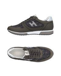Hogan Gray Low-tops & Sneakers for men