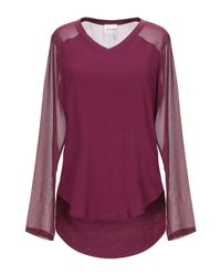T-shirt di Silvian Heach in Purple