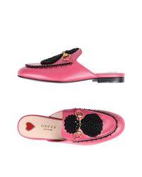 Gucci Multicolor Mules