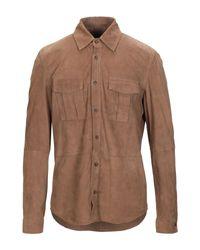 Camicia di AT.P.CO in Brown da Uomo