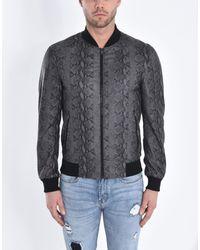 Pierre Darre' Gray Jacket for men