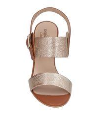 Donna Soft - Brown Sandals - Lyst