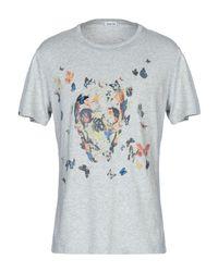 T-shirt di AT.P.CO in Gray da Uomo