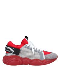 Moschino Red Low-tops & Sneakers