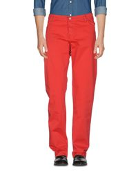 Roy Rogers Red Casual Pants for men