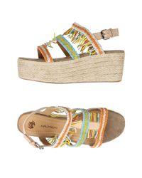 Maliparmi Orange Sandals