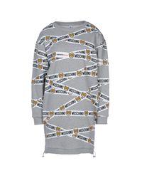 Moschino Gray Sleepwear
