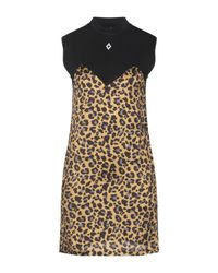 Marcelo Burlon Black Short Dress