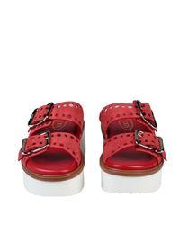 Sandales Tod's en coloris Red