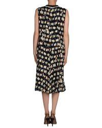 Marni Multicolor Asymmetric Dress