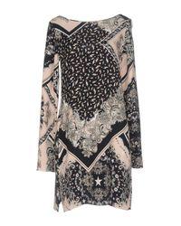 Just Cavalli Blue Short Dress