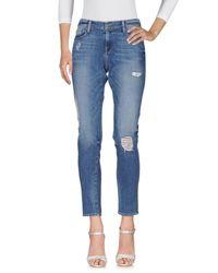 FRAME Blue Denim Trousers
