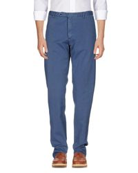 Pantalon Zanella pour homme en coloris Blue