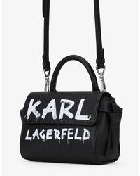 Borsa a mano di Karl Lagerfeld in Black