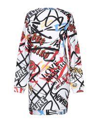 Love Moschino White Short Dress