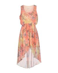 Maison Espin Multicolor Short Dress