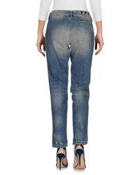 Hydrogen - Blue Denim Pants - Lyst