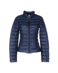 Patrizia Pepe Blue Down Jacket