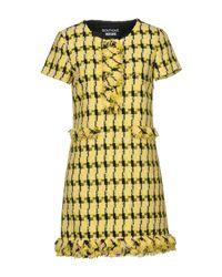 Boutique Moschino Yellow Short Dress