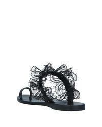 Sandalias de dedo Ancient Greek Sandals de color Black