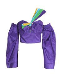 Top Peter Pilotto de color Purple