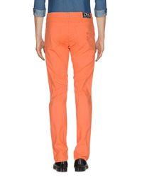 Trussardi - Orange Casual Pants for Men - Lyst