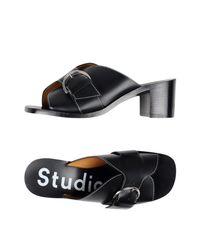 Sandales Acne en coloris Black