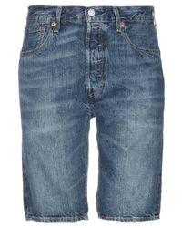 Short en jean Levi's pour homme en coloris Blue