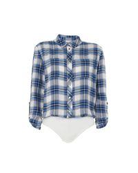 Elisabetta Franchi Blue Shirt