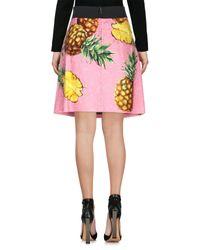 Jupe au genou Dolce & Gabbana en coloris Pink