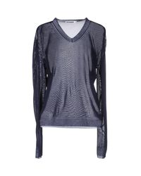 Jil Sander Blue Sweater