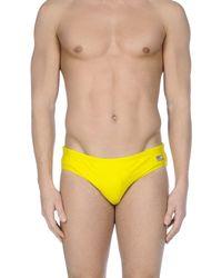 Mc2 Saint Barth Yellow Swim Brief for men