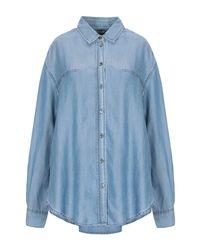 Closed Blue Denim Shirt