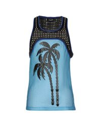 DSquared² - Blue Tank Top for Men - Lyst