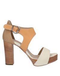 Laura Bellariva White Sandale