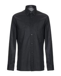 Camicia di Roberto Cavalli in Black da Uomo