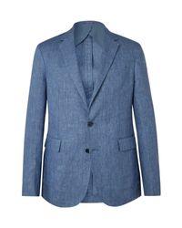 Ralph Lauren Purple Label Blue Suit Jacket for men