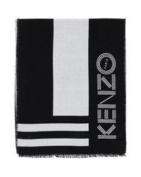 Écharpe KENZO en coloris Black