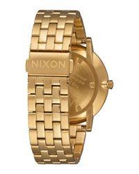 Nixon - White Wrist Watch for Men - Lyst