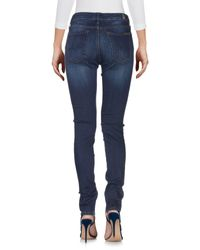 Pantalones vaqueros 7 For All Mankind de color Blue