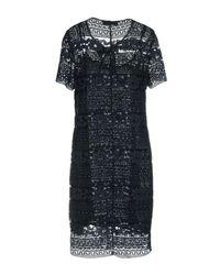 Trussardi Blue Short Dress
