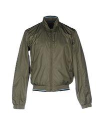 Trussardi Green Jacket for men