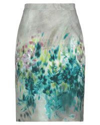 Anna Rachele Gray Knee Length Skirt