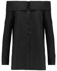 Camisa Tibi de color Black