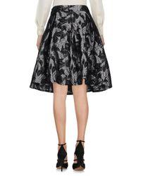 Guess Black Knee Length Skirt