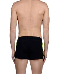 EA7 Black Swim Trunks for men