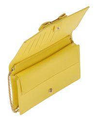 Ferragamo Yellow Wallet